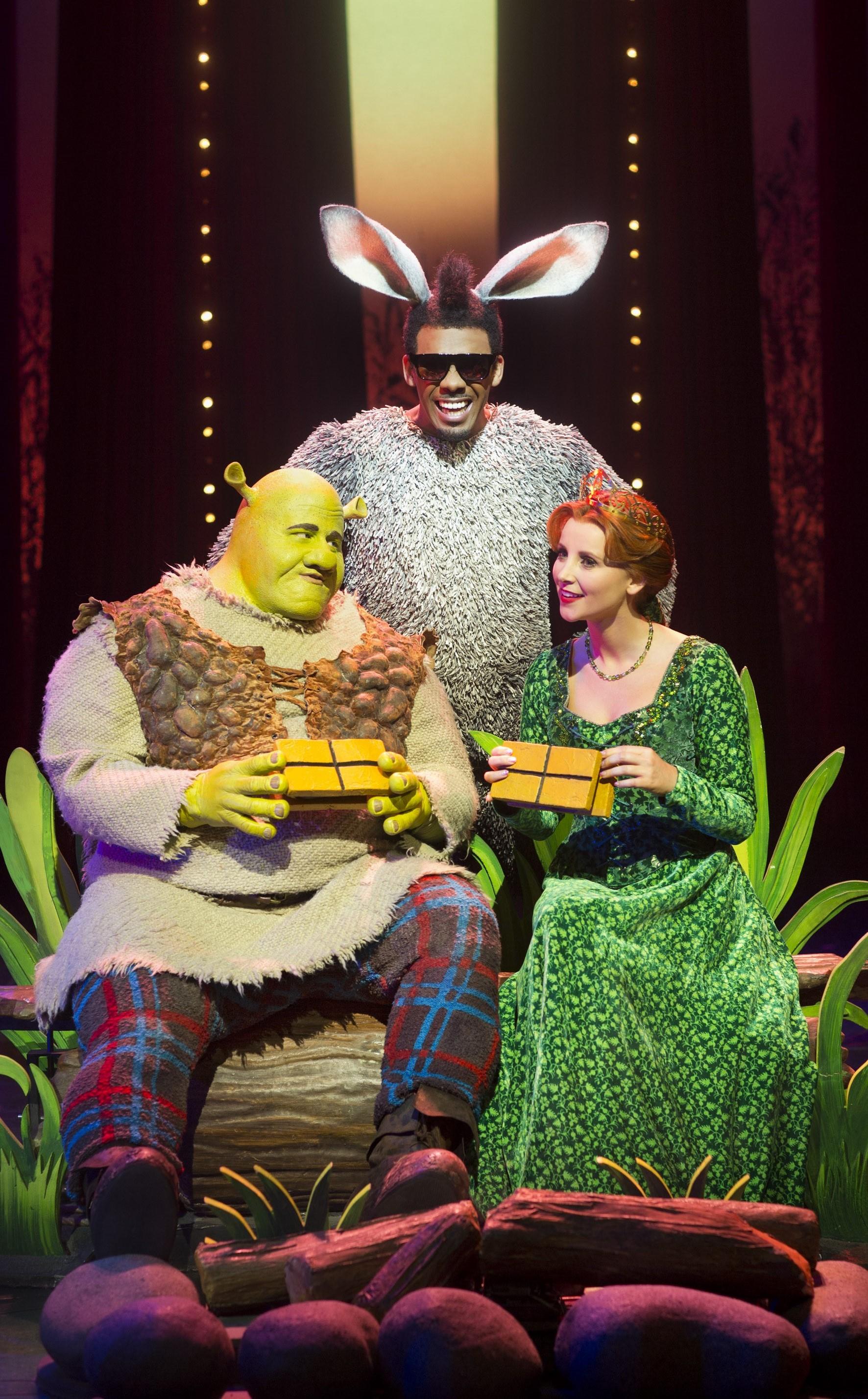 Shrek Donkey They Met Woods The Musical Myideasbedroomcom