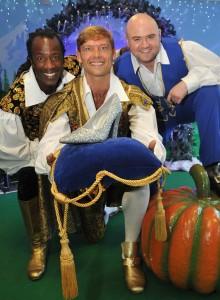 Cinderella launch_Sid Sloane, John Partridge, Danny Posthill_4432