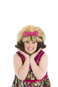 Freya Sutton (Tracy Turnblad) in Hairspray. Credit Ellie Kurttz.jpg