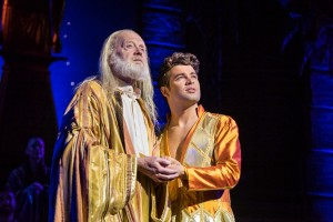 1)Henry Metcalfe and Joe McElderry in Joseph and the Amazing Technicolor Dreamcoat (c)Mark Yeoman